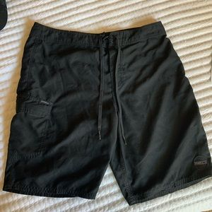 O'Neill black swim trunks
